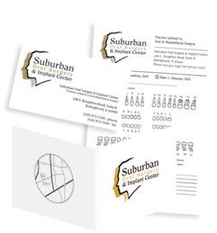 Dental Stationery Image, Dental Referral Pads, Dental Business Cards